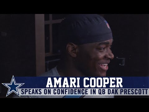 Amari Cooper: He Thinks We're Going to Score Every Time | Dallas Cowboys 2019