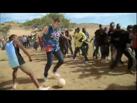 NEW Pepsi Ad. World Cup 2010 (Oh Africa - Akon) Me...