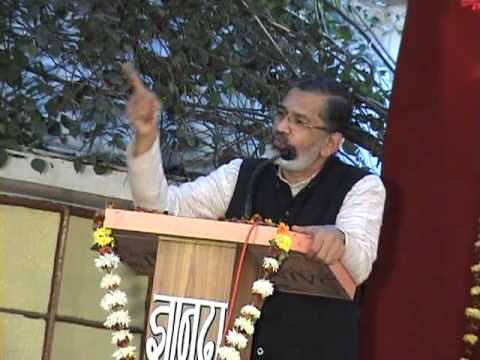 Dr Abhay Bang SPEECH -Philosophy of Life @ vss warora PART 1