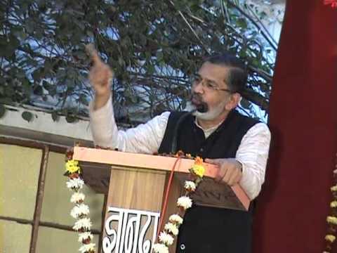 Dr Abhay Bang SPEECH -Philosophy of Life @ vss warora PART 1