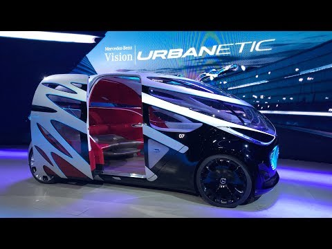 Future Mobility Vision Urbanetic By Mercedes Benz Vans At The Iaa