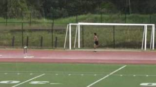 preview picture of video 'BIIF Track and Field 2010 HI#1 Boys 300m Hurdles 4/10/2010'