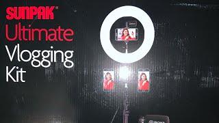 Sunpak Ultimate Vlogging Kit Unboxing