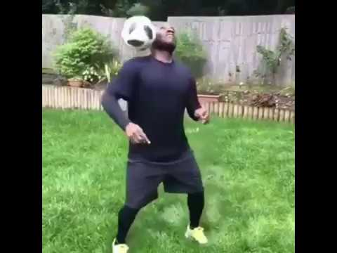 Watch Okocha Shaku Shaku And Juggle Ball To #ISSAGOAL