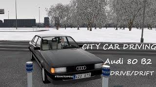 Audi 80 B2 | Drive+Drift | City Car Driving