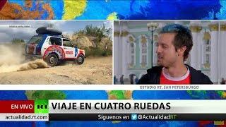 Desde Londres a Rusia 2018 en un Lada Niva modelo 1987 para apoyar a Costa Rica