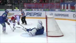 Alexander Salak Top 10 KHL Saves so far /  Лучшие сэйвы Салака в КХЛ на данный момент