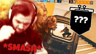 FIRST TIME RANKED and I SMASHED my keyboard.. (RAINBOW SIX SIEGE)