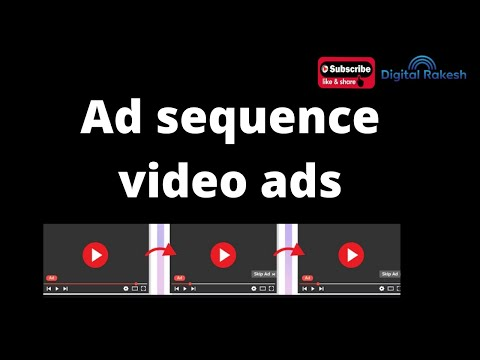 Ad sequence video ads Google Adwords Course google ads tutorial