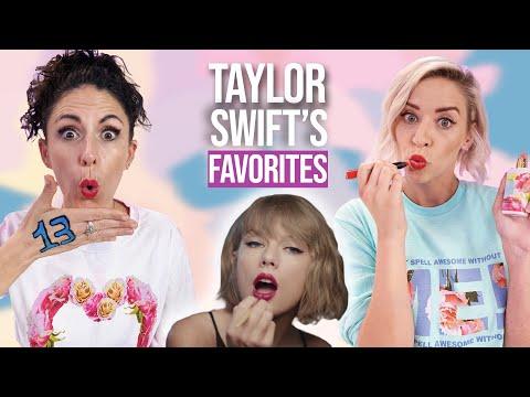 Trying Taylor Swift's 13 Favorite Beauty Products! (Beauty Break)