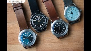 Watch Review: Halios Seaforth Collection