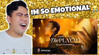 ATEBANG REACTION | SOOBIN X SLIMV - THE PLAYAH (Special Performance / Official Music Video)