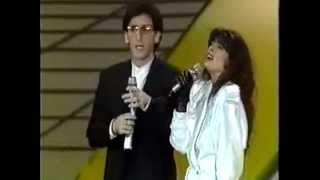 Franco Battiato &  Alice - I treni di Tozeur Eurovision   1984 Italy