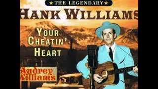 Hank & Audrey Williams  /    Lost On The River.  wmv