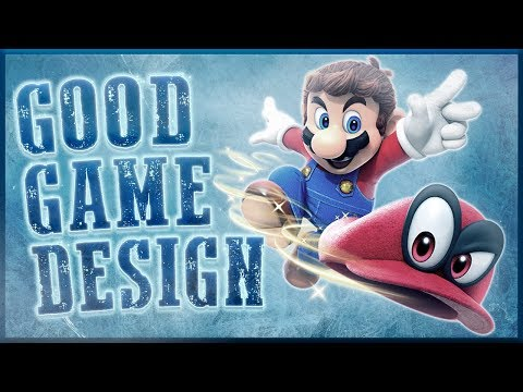 Good Game Design - Super Mario Odyssey