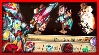 Knights and Dragons - MOLTEN WARFARE! Incinerating Aegis F/A Guild War Shadowforged Power Leveling!