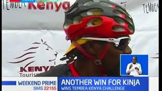 David Kinja wins Tembea Kenya challenge
