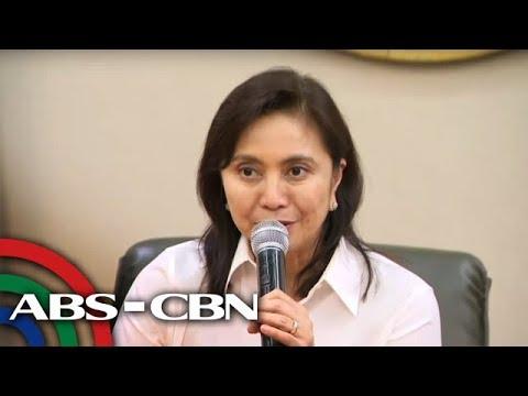[ABS-CBN]  VP Robredo holds press briefing