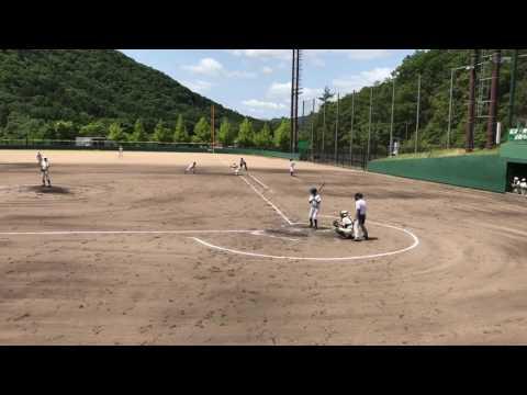 小野南中学校 野球部 2017.6.3 篠山東中学校 打撃2