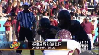 Week 14 - Frisco Heritage Coyotes vs. South Oak Cliff Bears - 2014