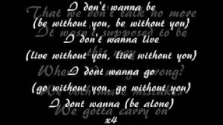 Aaliyah - I Don't Wanna Lyrics