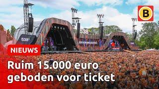 Enorme handel in kaarten Fieldlab-experiment 538 Oranjedag | Omroep Brabant