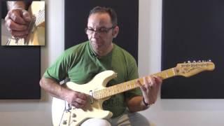 Bireli Lagrene plays the blues (BB King minor blues)