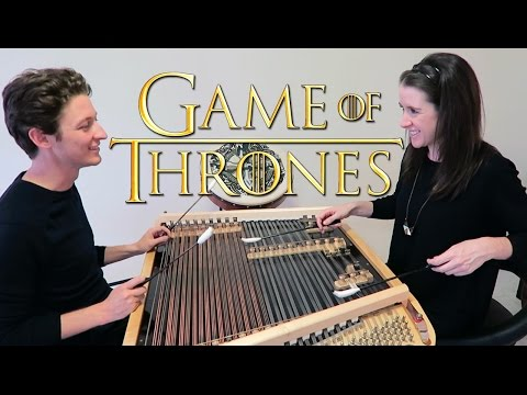 Our Game of Thrones cover on the strangest instrument we own
