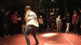 POP C circle / FUNKY CHICKEN 2017 DANCE BATTLE