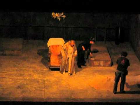 Fin de partida en el Théâtre Nanterre Amandiers