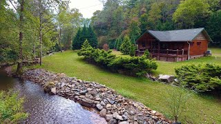 SOLD! - Log Home On BOLD Creek Franklin, NC $279,900