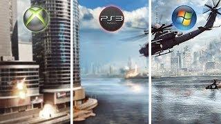 Battlefield 4 - Grafik-Vergleich aus der PC / PS3 / Xbox 360-Beta