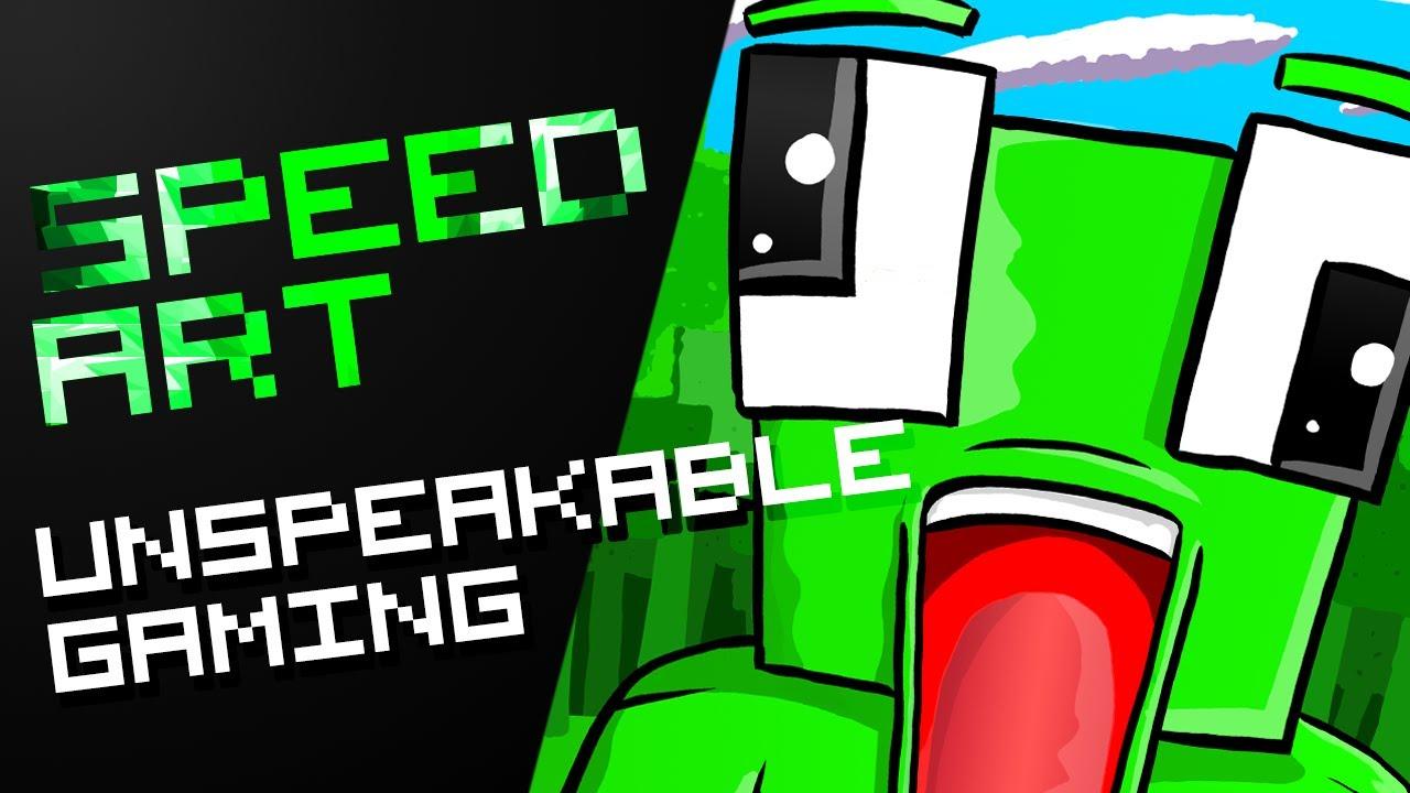 Minecraft Speedart - UnspeakableGaming