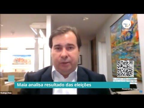 Maia analisa resultado das eleições municipais - 17/11/20