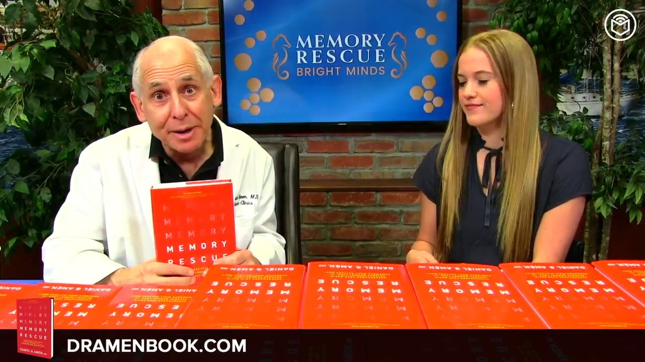 Memory Rescue: Supercharge Your Brain, Reverse Memory Loss, and Remember What Matters Most by Dr. Daniel Amen