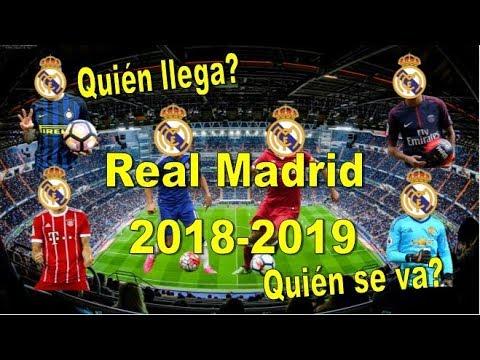 Fichajes Real Madrid Temporada 2018-2019. Las estrellas que Florentino espera sumar al equipo.