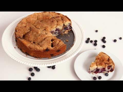 Blueberry Vanilla Bean Coffee Cake – Laura Vitale – Laura in the Kitchen Episode 574