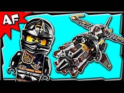 Vidéo LEGO Ninjago 70747 : Le jet multi-missiles