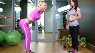 Одно из самых любимых упражнений Кати Усмановой на ягодицы