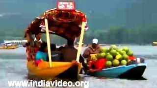 Shopping on water - Floating Market in Dal Lake Srinagar
