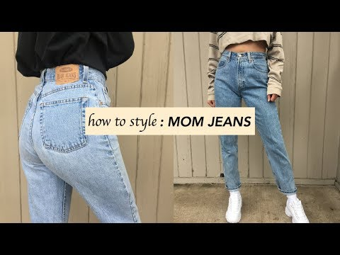 How to style MOM JEANS!
