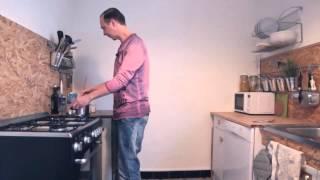 La recette du réconfortant Fondant de semoule au cacao
