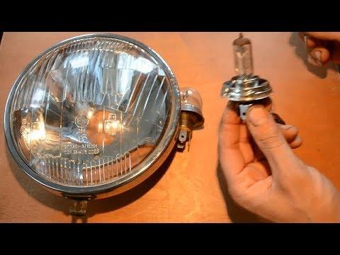 Лампы увеличенной мощности в фару мотоцикла/автомобиля. Купи их и получи массу проблем!