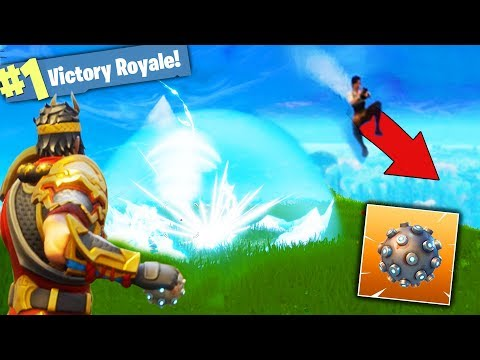 Mountain Trolling With IMPULSE GRENADES! - Fortnite Battle Royale