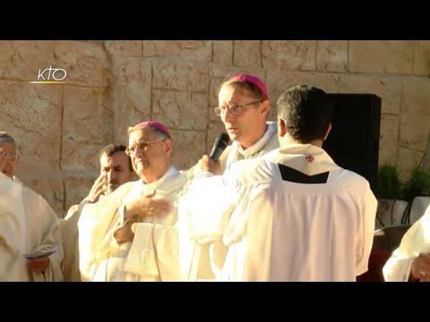 De Lourdes à la Jordanie : le voyage de Mgr Brouwet
