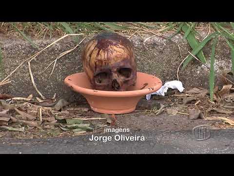TV Banqueta - JB - Crânio é encontrado próximo à Escola Estadual Augusto de Lima - 29/01/2018