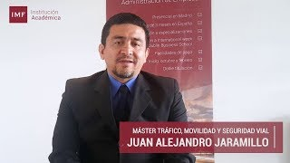 Opinion Alumno Master Tráfico y Seguridad Vial: Juan Jaramillo