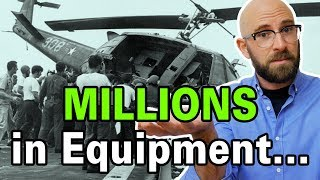 That Time Marines Dumped Millions of Dollars of Helicopters Into the Ocean to Save One Family