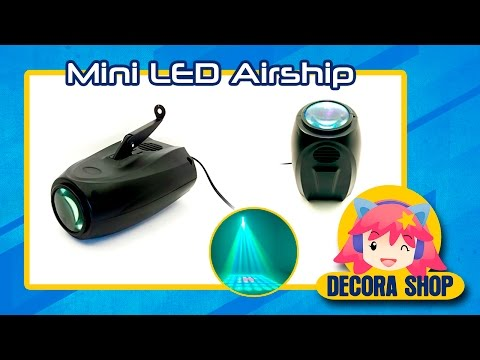►►Proyector LED Small Airship - RGBW - audio ritmica/Automatica◄◄