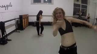 """Belly dancing rock stars to Poison """"Unskinny Bop"""" @pineapple"""